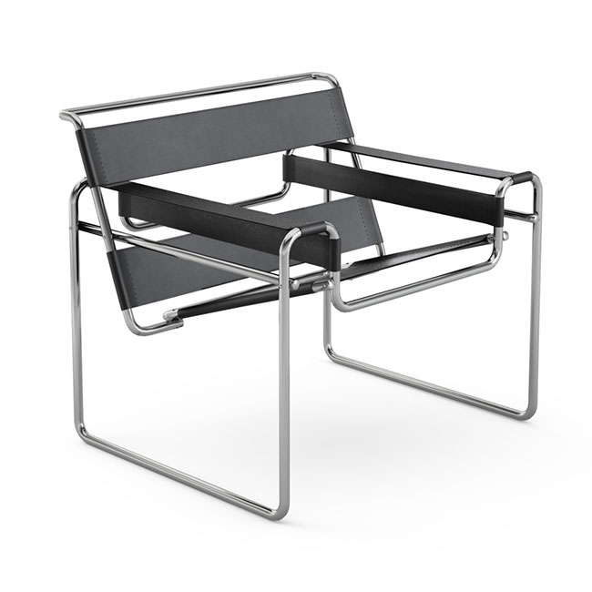 [Knoll/놀] Wassily Chair-Spinneybeck Belting leather// 바실리 체어-스피니백 벨팅 레더