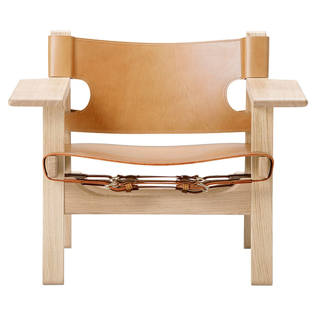 [Fredericia/프레데리시아] The Spanish Chair / Natural leather // 더 스페니시 체어 / 네추럴 레더